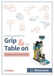 SPIKE™ Prime 11.Metronome Building Instruction Guide E-KÖNYV