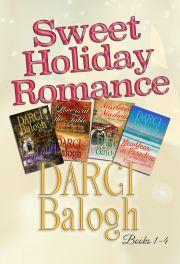 Sweet Holiday Romance Books 1 - 4 E-KÖNYV