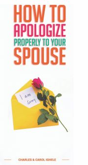How To Apologize Properly To Your Spouse E-KÖNYV