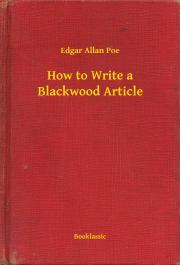 How to Write a Blackwood Article E-KÖNYV