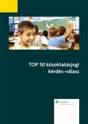 TOP 50 közoktatásjogi kérdés-válasz E-KÖNYV