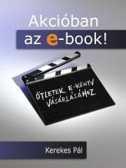 Akcióban az e-book! E-KÖNYV