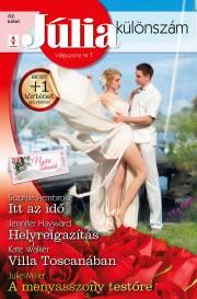 Itt az idő (Nyári esküvők 3.), Helyreigazítás, Villa Toscanában, A menyasszony testőre E-KÖNYV
